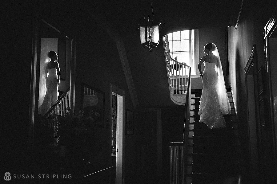 Bride at Sweetwater Farm