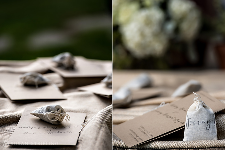 Details at a Sweetwater Farm wedding