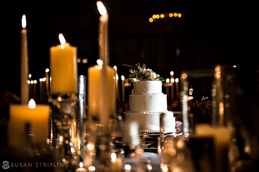 Bowery Hotel Wedding Cake