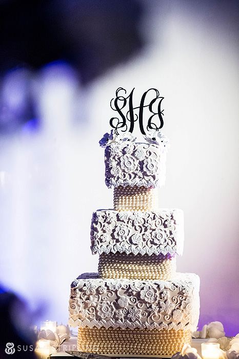 Wedding Cake at Liberty Warehouse