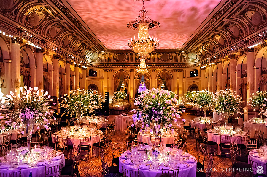 Plaza Hotel Wedding Reception