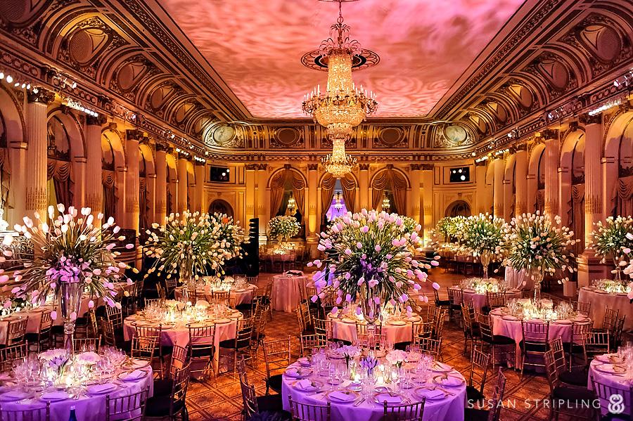 Plaza Hotel Wedding Reception Susan Stripling Photography
