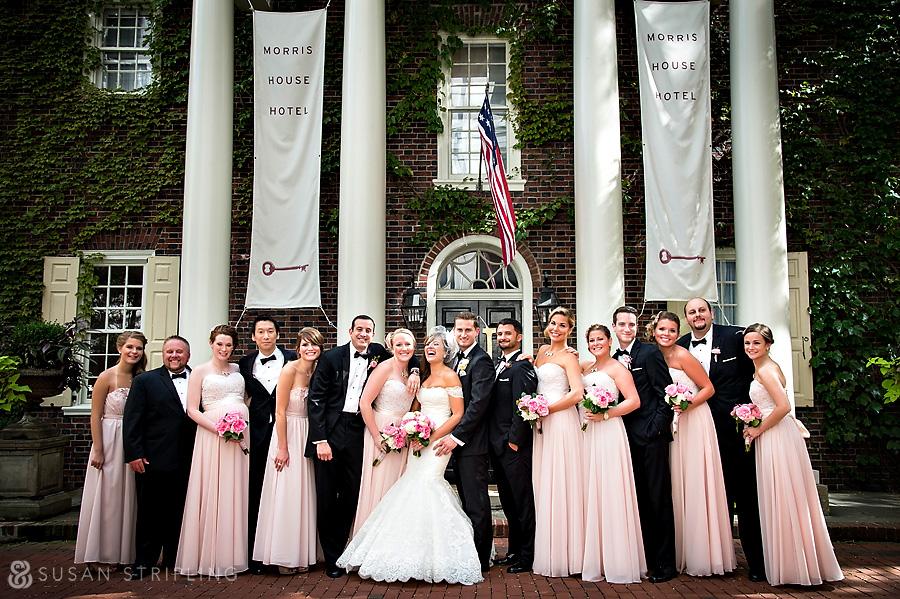 Morris House Hotel Wedding Photos