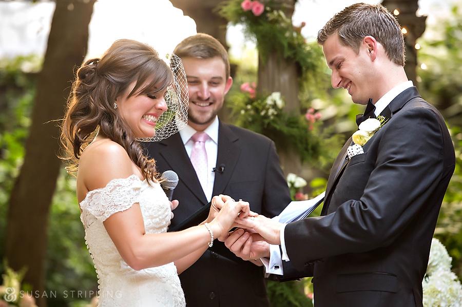 Morris House Hotel Wedding Ceremony
