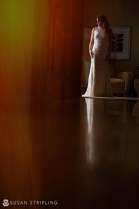 Bride at Pelican Hill