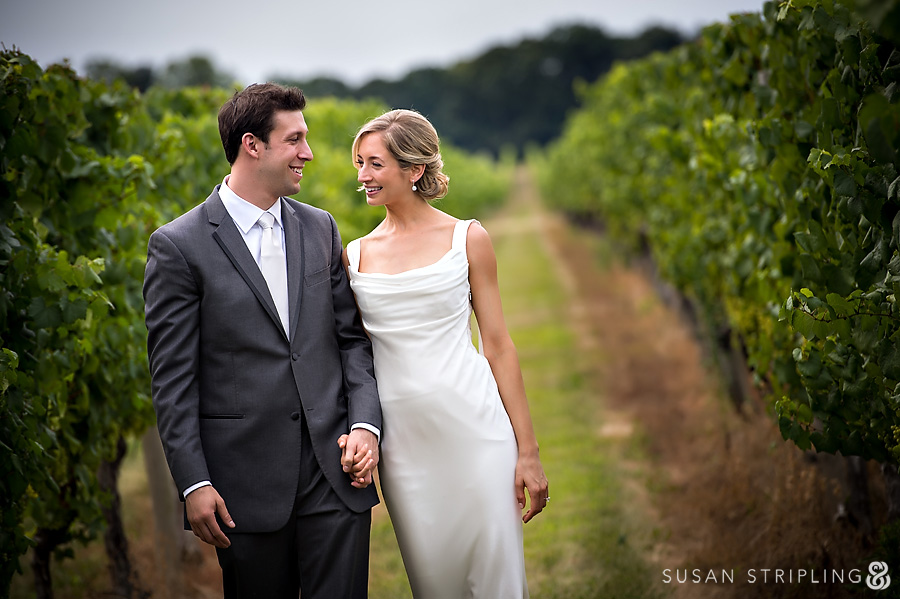 Wedding Pictures at Bedell Cellars