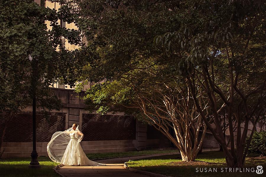 Bride at Grand Historic Venue
