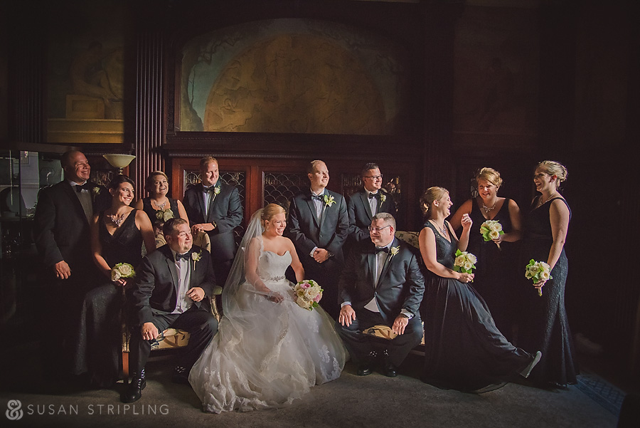 Bridal Party at the Grand Historic Venue