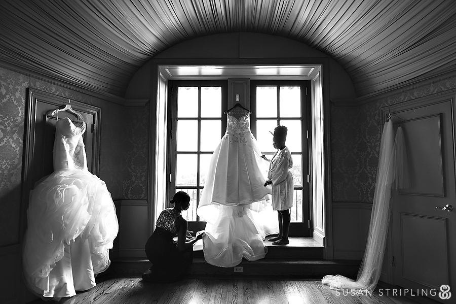 Oheka Castle Bridal Getting Ready Room