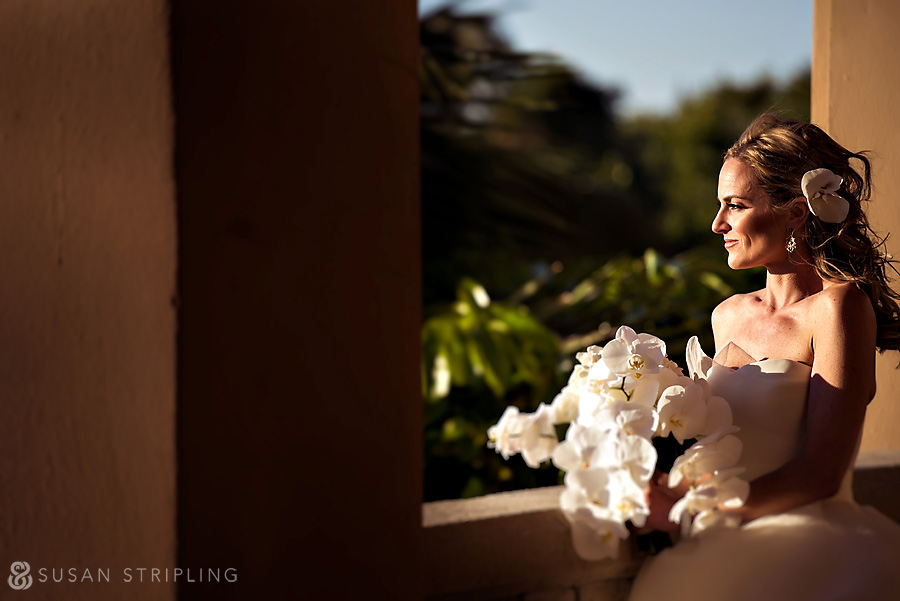Bride at Naples Ritz Carlton wedding