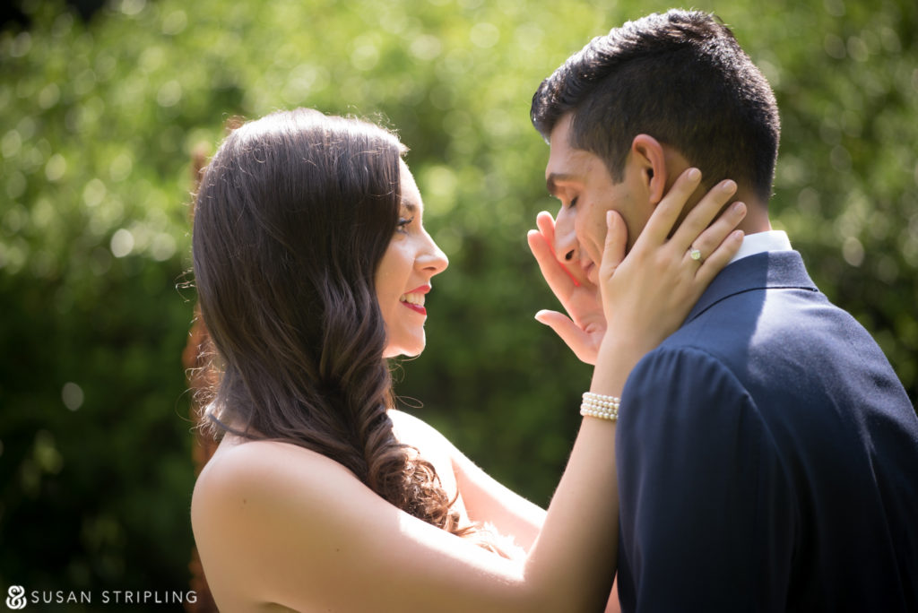 Summer wedding at the Brooklyn Botanic Garden