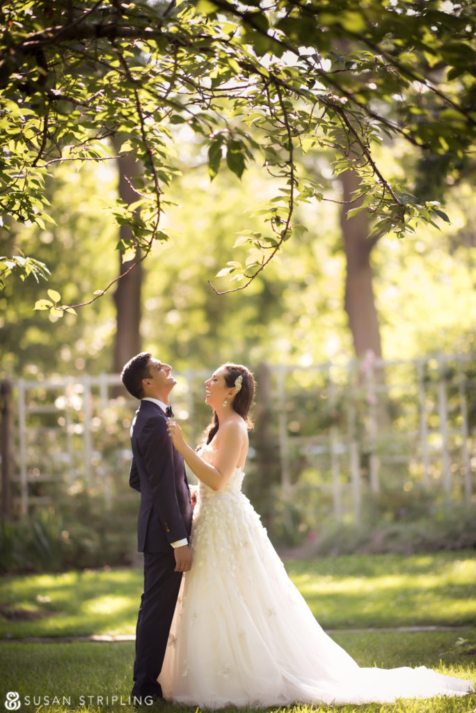 Summer Wedding At The Brooklyn Botanic Garden Susan Stripling Photography