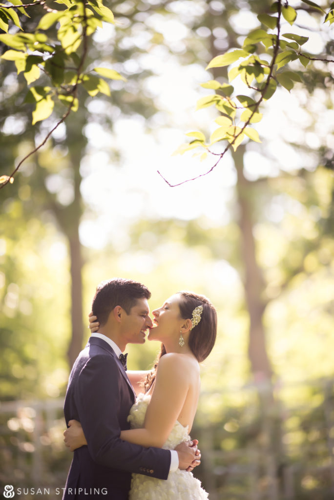 Summer wedding at the Brooklyn Botanic Garden photography